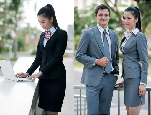 Chất liệu vải may quần phục vụ cao cấp tạo sự thoải mái cho nhân viên khi phải hoạt động, đi lại nhiều