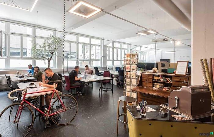 Coworking space hiện đại