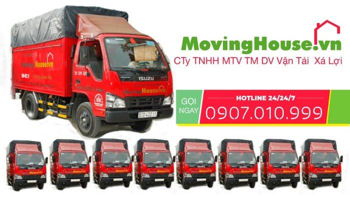 Moving House - Dịch vụ vận chuyển trọn gói giá rẻ, nhanh nhất và chuyên nghiệm nhất