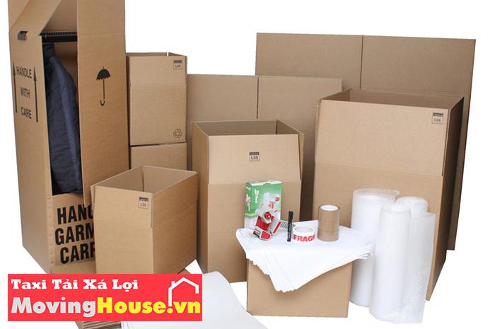 Đóng gói đồ đạc chuyên nghiệp khi sử dụng dịch vụ chuyển nhà của Moving House